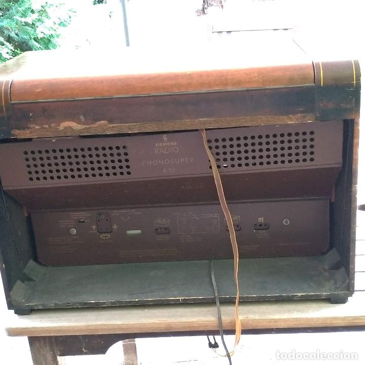 Radios de válvulas: Radio antigua Siemens Phonosuper k 53 - Foto 3 - 234567930