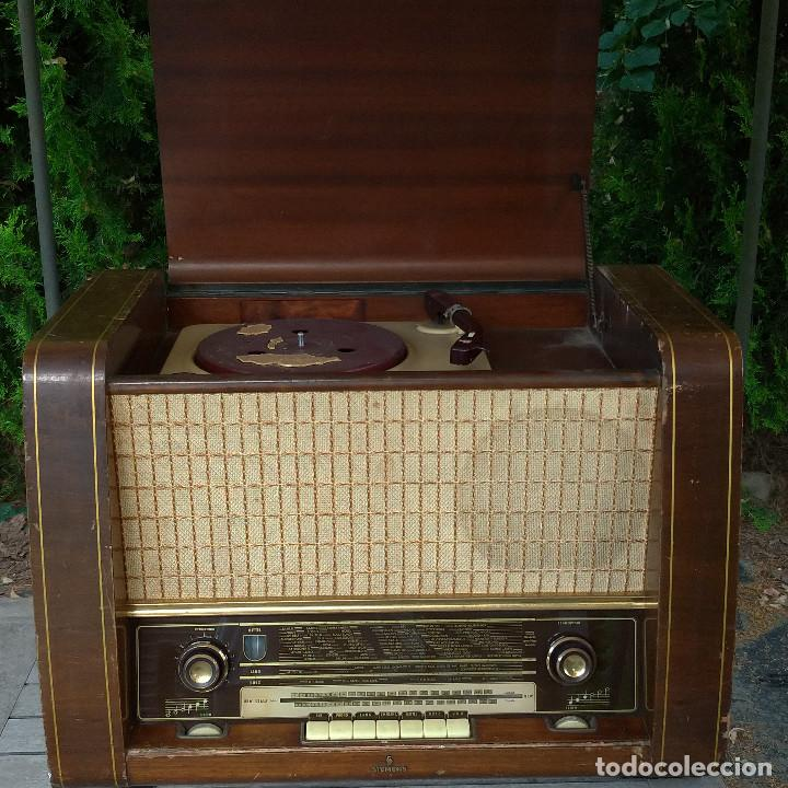 Radios de válvulas: Radio antigua Siemens Phonosuper k 53 - Foto 9 - 234567930