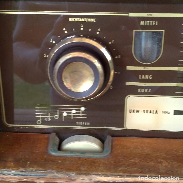 Radios de válvulas: Radio antigua Siemens Phonosuper k 53 - Foto 10 - 234567930