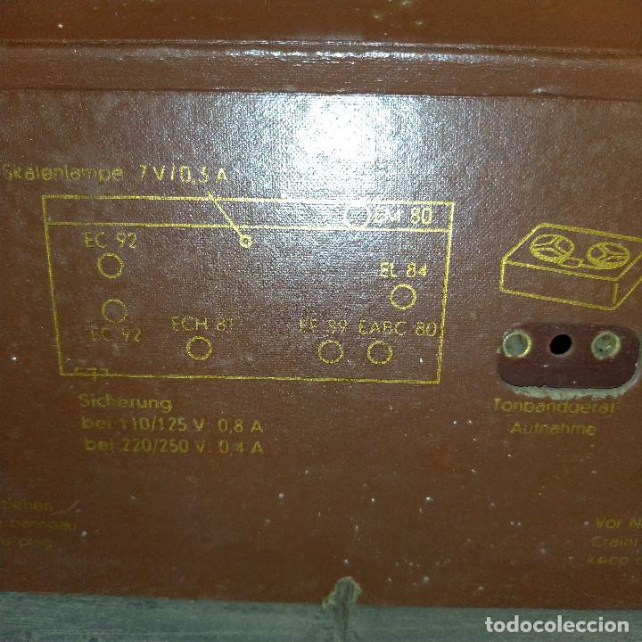 Radios de válvulas: Radio antigua Siemens Phonosuper k 53 - Foto 21 - 234567930