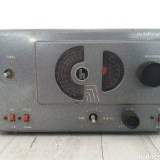 Radios de válvulas: RADIO THE HALLICRAFTERS S-38C. Lote 235651070