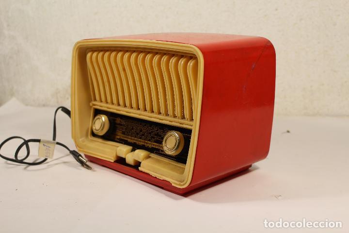 Radios de válvulas: RADIO TELEFUNKEN CAPRICHO U-1925-II , ROJA - Foto 5 - 268859829