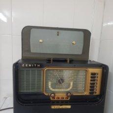 Radios de válvulas: RADIO ANTIGUA MOD ZENITH OCEANIC RECEPTOR MUNDIAL BUEN ESTADO RARÍSIMO ALTA COLECCIÓN. Lote 236378995