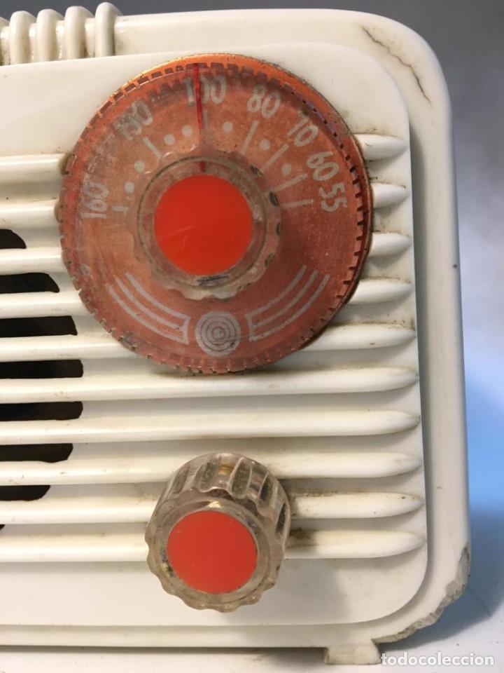 Radios de válvulas: ANTIGUA RADIO DE VALVULAS TIPO PERIQUITO O BARBIE - Foto 8 - 236466620