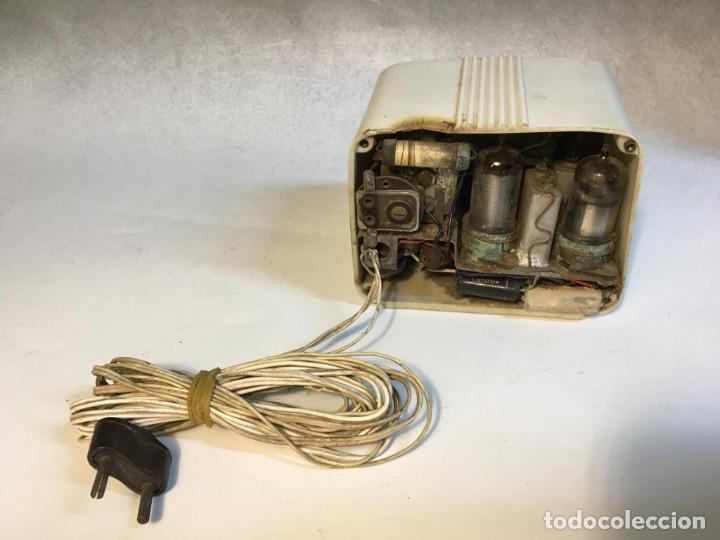 Radios de válvulas: ANTIGUA RADIO DE VALVULAS TIPO PERIQUITO O BARBIE - Foto 12 - 236466620