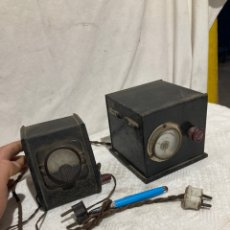Radios de válvulas: LOTE DE DOS TRANSFORMADORES DE RADIOS ANTIGUAS!. Lote 237156425
