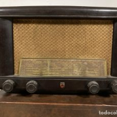 Radio a valvole: PHILIPS BE-412A. Lote 240108385