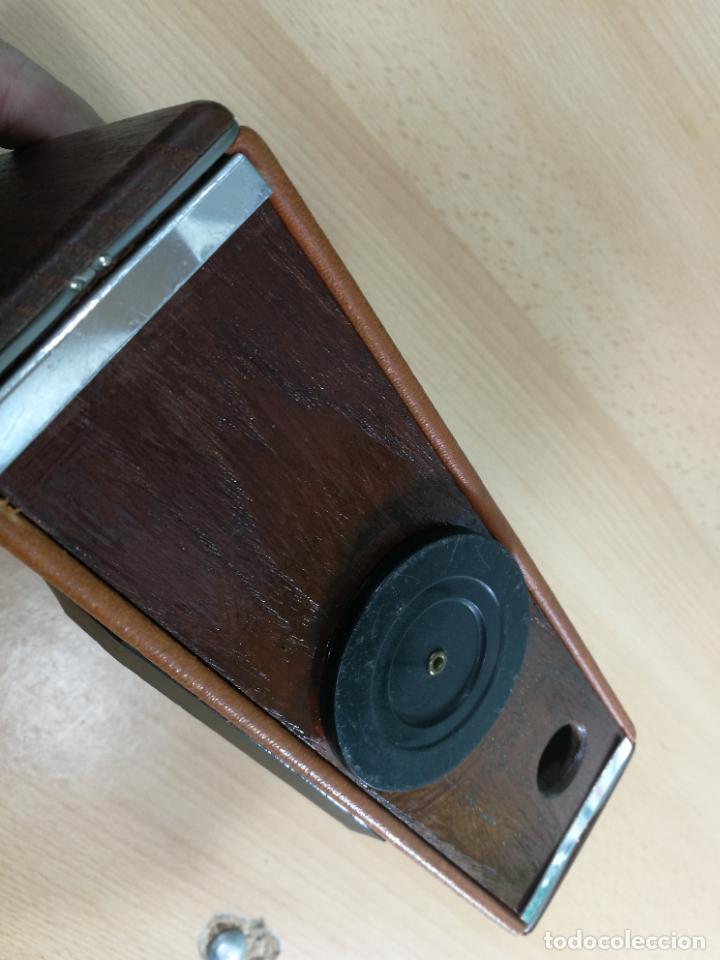 Radios de válvulas: RADIO ANTIGUA MUY RARA, GIRATORIA - Foto 4 - 240538645