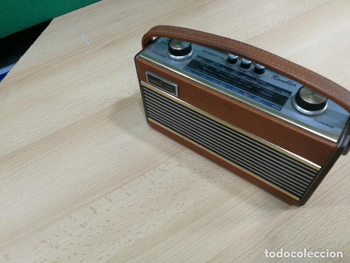 Radios de válvulas: RADIO ANTIGUA MUY RARA, GIRATORIA - Foto 8 - 240538645