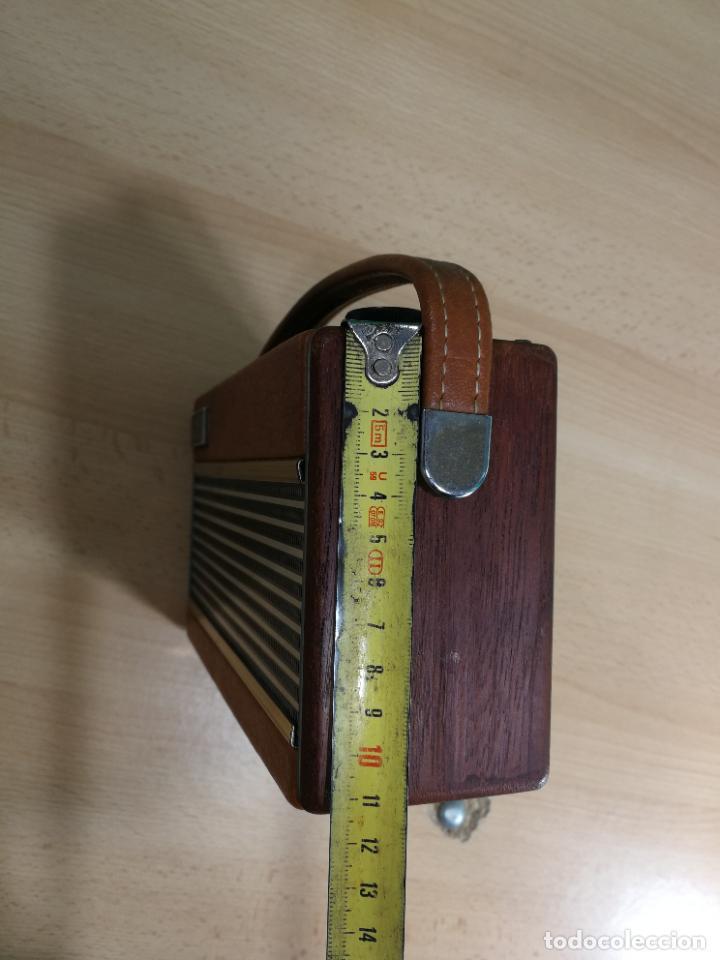 Radios de válvulas: RADIO ANTIGUA MUY RARA, GIRATORIA - Foto 11 - 240538645