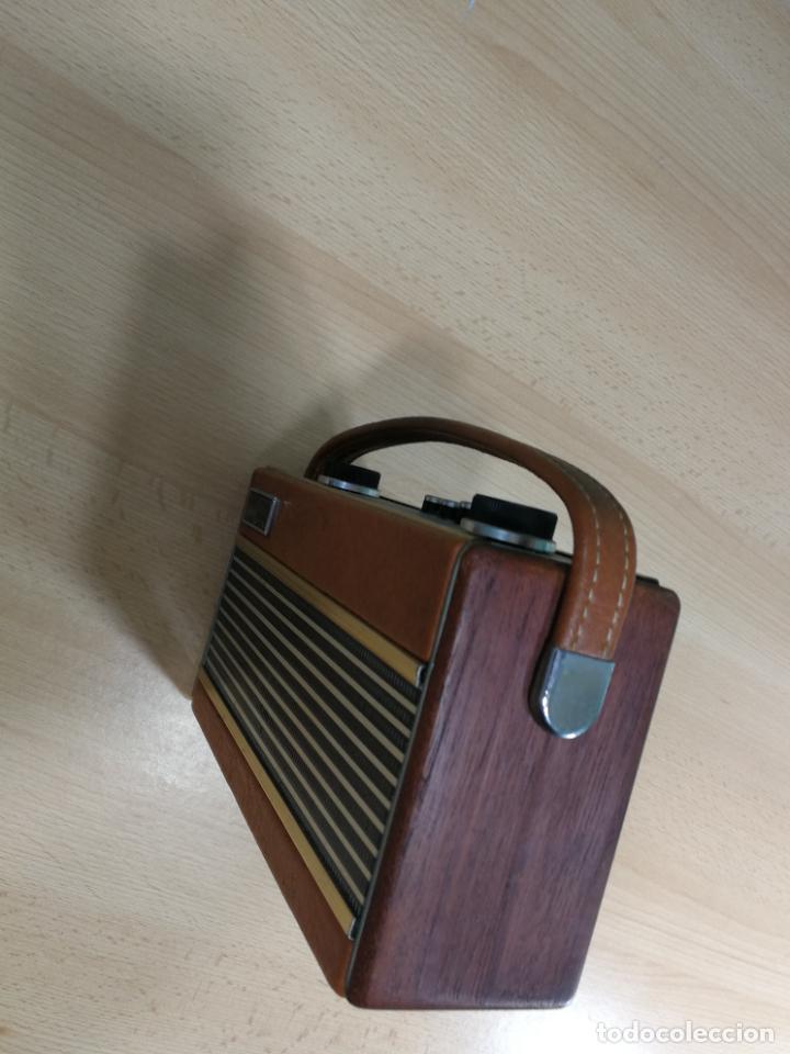 Radios de válvulas: RADIO ANTIGUA MUY RARA, GIRATORIA - Foto 12 - 240538645