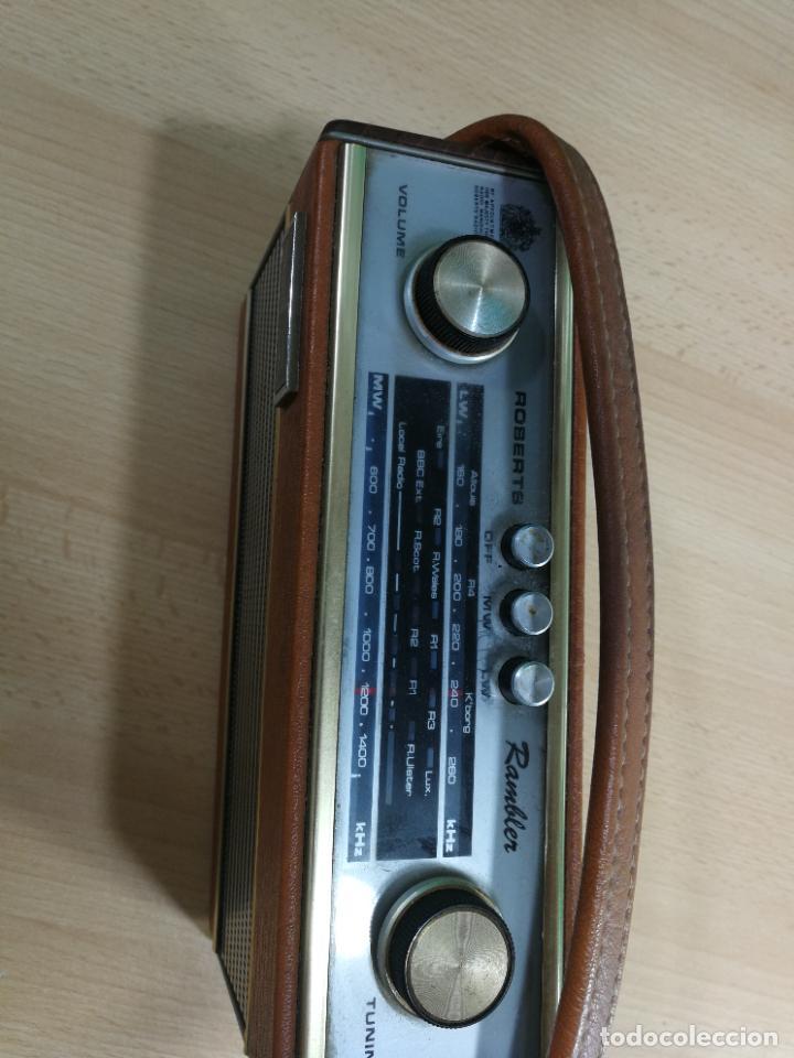 Radios de válvulas: RADIO ANTIGUA MUY RARA, GIRATORIA - Foto 13 - 240538645