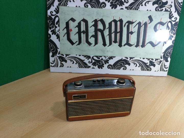 RADIO ANTIGUA MUY RARA, GIRATORIA (Radios, Gramófonos, Grabadoras y Otros - Radios de Válvulas)