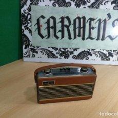 Radios de válvulas: RADIO ANTIGUA MUY RARA, GIRATORIA. Lote 240538645