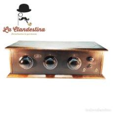 Radios de válvulas: RADIO ARBOPHONE. CONSOLIDATED RADIO CO. FABRICADA EEUU. AM. FUNCIONANDO. RESTAURADA.. Lote 240812915