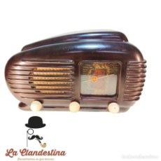 Radios de válvulas: RADIO TESLA. MODELO 308U TALISMÁN. FABRICADA CHECOSLOVAQUIA. AM, FM. FUNCIONANDO.. Lote 240824255
