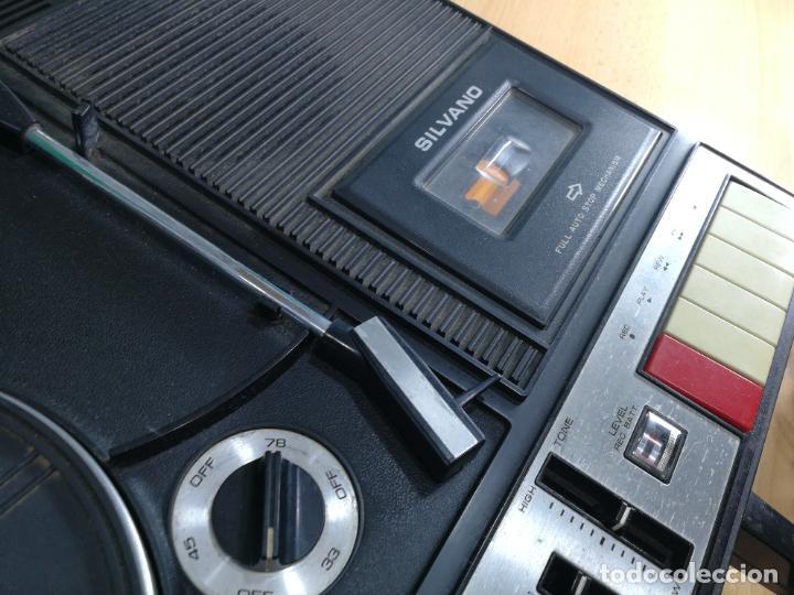 Radios de válvulas: RADIO TOCADISCOS CASETE DE MALETIN SILVANA - Foto 23 - 240956255
