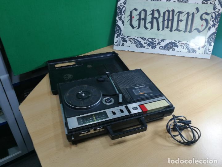 Radios de válvulas: RADIO TOCADISCOS CASETE DE MALETIN SILVANA - Foto 28 - 240956255