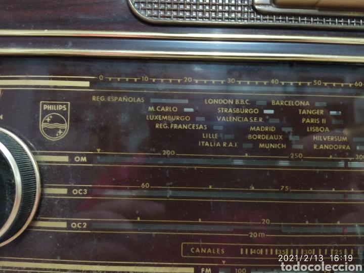 Radios de válvulas: Radio Philips 1959 - Foto 6 - 241317645