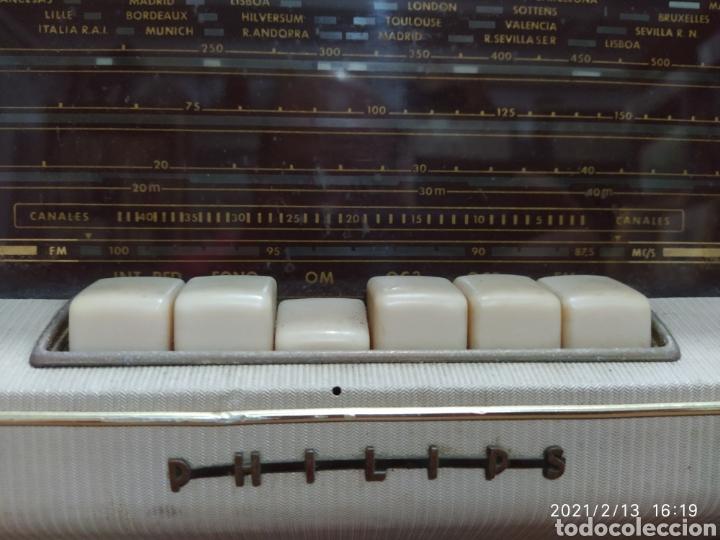 Radios de válvulas: Radio Philips 1959 - Foto 8 - 241317645