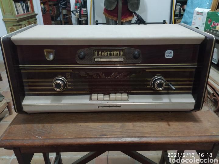 RADIO PHILIPS 1959 (Radios, Gramófonos, Grabadoras y Otros - Radios de Válvulas)