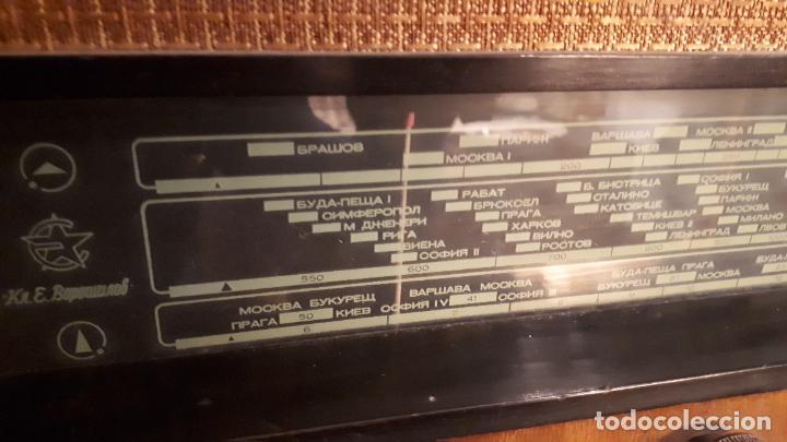 Radios de válvulas: Radio rusa. - Foto 3 - 242854320