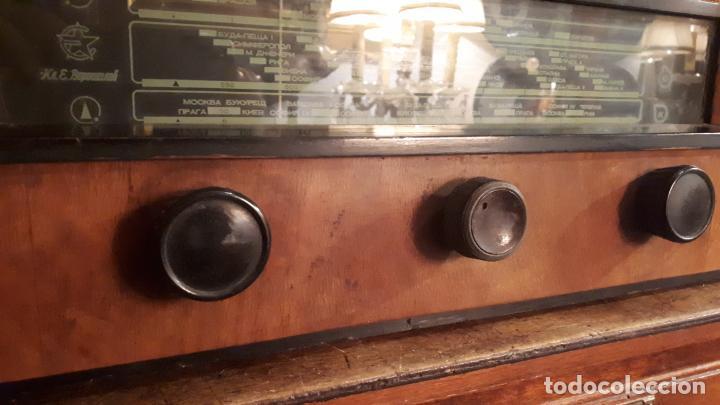 Radios de válvulas: Radio rusa. - Foto 5 - 242854320