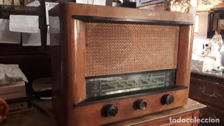 RADIO RUSA. (Radios, Gramófonos, Grabadoras y Otros - Radios de Válvulas)
