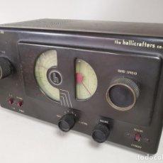 Radios de válvulas: RADIO HALLICRAFTER MODELO S- 38A---1946. Lote 242884105