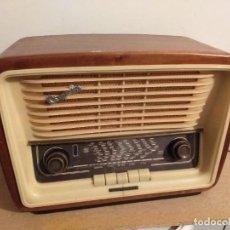 Radios de válvulas: RADIO TELEFUNKEN U-1646-3D CAMPANELA-57 FUNCIONANDO. Lote 243842655