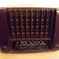 Radios de válvulas: TELEFUNKEN BAQUELITA FUNCIONANDO. Lote 243843025