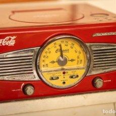 Radios de válvulas: ANTIGUA RADIO MP3 COCA COLA CLASSIC. Lote 244811195