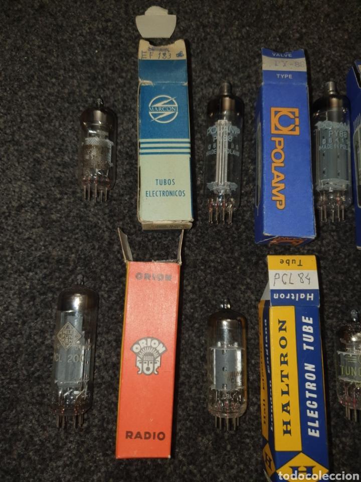 Radios de válvulas: Lámparas válvulas marconi polamp tungsram haltron orion - Foto 2 - 244933750