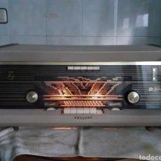 Radios de válvulas: RADIO PHILIPS B5X84A, FUNCIONANDO Y MUY BUEN ESTADO.. Lote 245284595