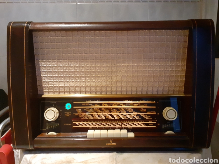 RADIO SIEMENS, LUXUS-SUPER 54 FUNCIONANDO Y MUY BUEN ESTADO. (Radios, Gramófonos, Grabadoras y Otros - Radios de Válvulas)