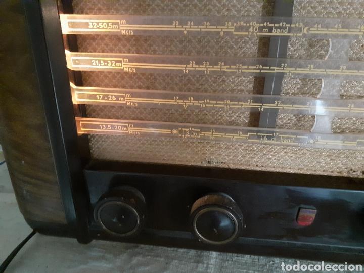 Radios de válvulas: Radio Philips BX490A, funciona, año 1949. - Foto 5 - 245445990