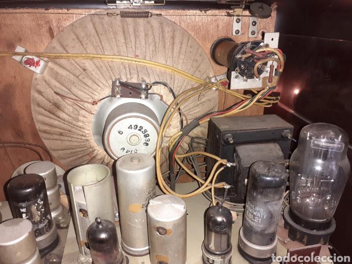 Radios de válvulas: Radio Philips BX490A, funciona, año 1949. - Foto 11 - 245445990