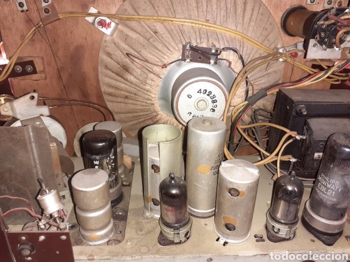 Radios de válvulas: Radio Philips BX490A, funciona, año 1949. - Foto 12 - 245445990