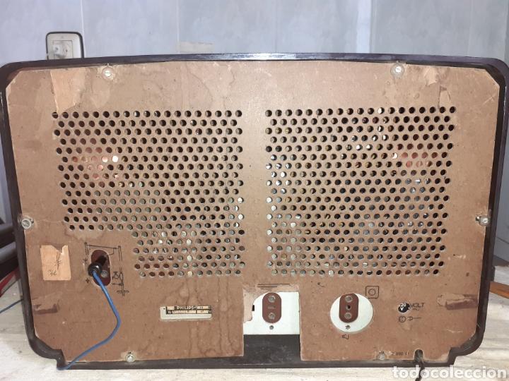 Radios de válvulas: Radio Philips BX490A, funciona, año 1949. - Foto 15 - 245445990