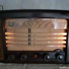 Radios de válvulas: RADIO PHILIPS BX490A, FUNCIONA, AÑO 1949.. Lote 267315864