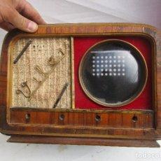 Radios de válvulas: PRECIOSA CAJA PARA RADIOS RESTAURADORES DECORACION VINTAGE. Lote 246007810