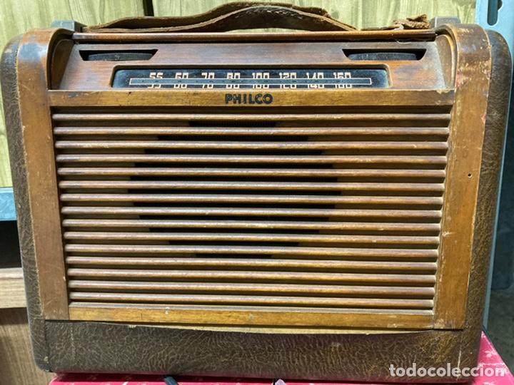 RADIO PHILCO (Radios, Gramófonos, Grabadoras y Otros - Radios de Válvulas)