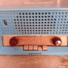 Radios de válvulas: RADIO PHILIPS B3X82U, FUNCIONANDO, VER FOTOS Y DESCRIPCION.. Lote 246475865