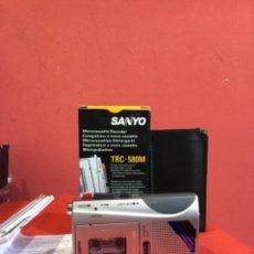 Radio a valvole: DICTAFONO SANYO TRC-580M. Lote 246639610