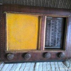 Radios de válvulas: RADIO ANTIGUA DE MADERA Y VÁLVULAS, AÑOS 40. Lote 247140730