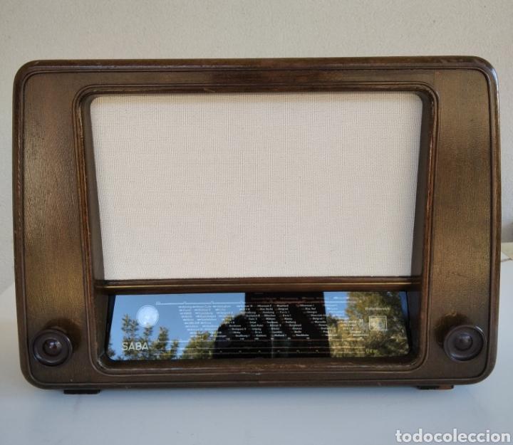 RADIO VINTAGE SABA SCHWARZWALD W (Radios, Gramófonos, Grabadoras y Otros - Radios de Válvulas)