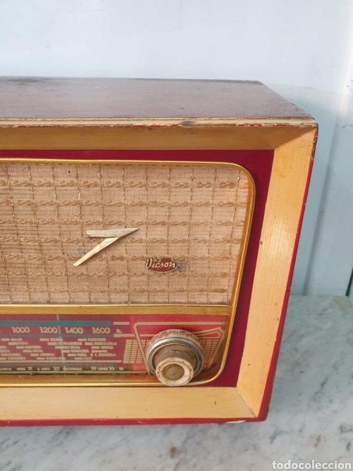 Radios de válvulas: Radio Vicson - Foto 2 - 248142540