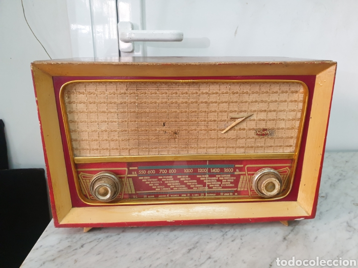 Radios de válvulas: Radio Vicson - Foto 10 - 248142540