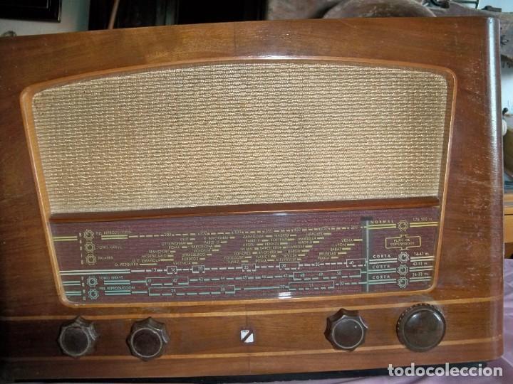 ANTIGUA RADIO DE VÁLVULAS CASTILLA (Radios, Gramófonos, Grabadoras y Otros - Radios de Válvulas)