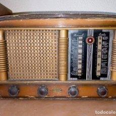 Radios de válvulas: ANTIGUA RADIO VERDI - NUMANCIA. Lote 251195540
